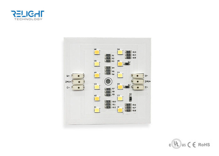 DC24V led module with Alu PCB 6W Dual color module with high 95cri