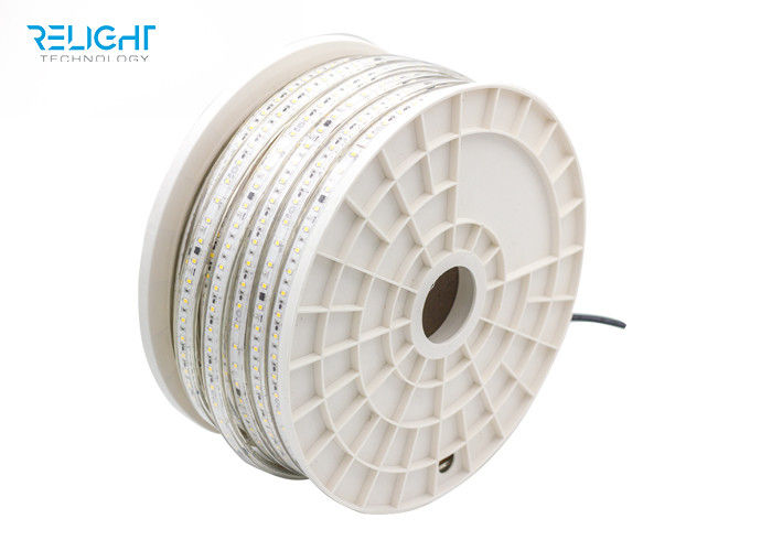 Waterproof IP65 flexible strip 110v/230v LED strip lights outdoor use